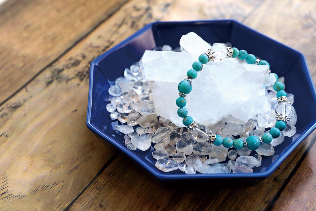 ヒマラヤ水晶チップ&クラスター浄化