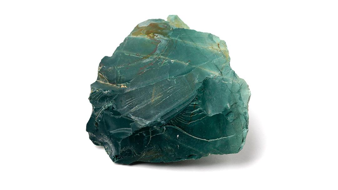 花仙山で採掘した出雲石の原石