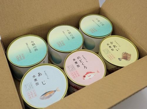 【シーライフ】どんちっち缶詰&今朝の浜セット 6缶入り